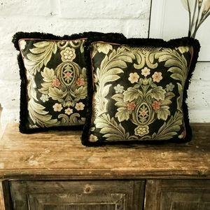 Bohemian Pair of Decor Pillows, Throw Pillows